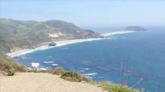 Point Sur on US 1 Cabrillo Highway  - stock footage