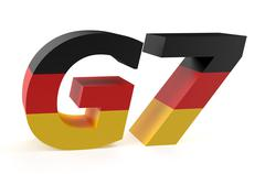 G7 Summit in Germany concept Stock Illustration