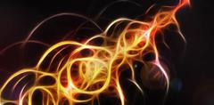 Stock Illustration of Energy beam of light