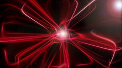 Abstract combination of red color - stock illustration