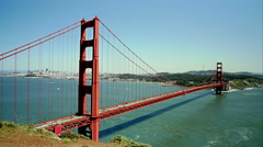 4K Time Lapse Of The Golden Gate Bridge San Francisco Stock Footage