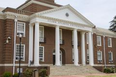 Clark Atlanta University building Stock Photos