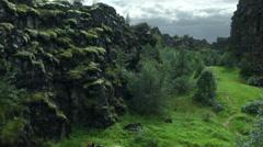 Þingvellir National Park, ICELAND  Stock Footage