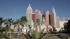 New York in Las Vegas Strip Stock Video Stock Footage