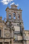Portugal , Évora . Monastery and Church of Our Lady of Mercy Grasse - stock photo