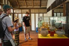 Stock Photo of Agua Blanca Museum in Machalilla National Park, Ecuador
