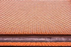 roof tile thai temple - stock photo