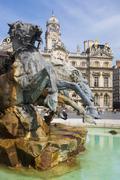 The Bartholdi Fountain Stock Photos