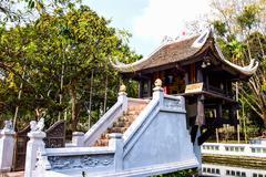 One Pillar Pagoda - Hanoi, Vietnam Stock Photos