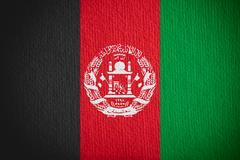 Flag of Afghanistan Stock Illustration