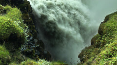 Stock Video Footage of Gullfoss Waterfall in ICELAND