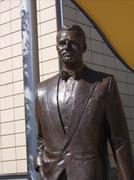 Cary Grant statue, Millennium Square, Bristol Stock Photos