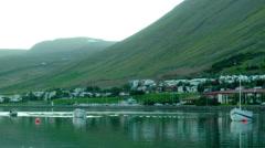 SEYDISFJORDUR, ICELAND  Stock Footage