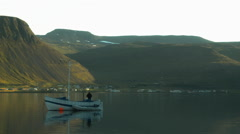 Western Fjords in ICELAND - CIRCA AUGUST, 2014 Stock Footage