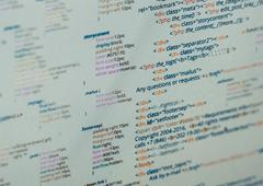 Html code Stock Photos