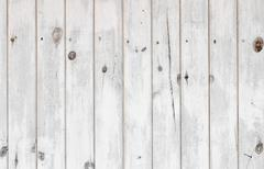 The white paint wood texture with natural patterns Stock Photos