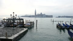 San Giorgio Maggiore one of the most famous islands of the Venice lagoon. Stock Footage