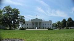 White House Washington DC Stock Footage