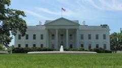 White House Washington DC - stock footage