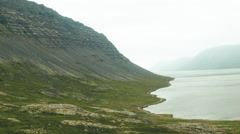 Western Fjords of ICELAND  Stock Footage