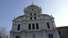 Cathedral in Venice Stock Footage