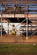 Steelmill Slab Crane Stock Photos