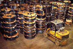 Steel Mill Hilo - stock photo