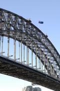 The arch of Sydney Harbour Bridge Kuvituskuvat