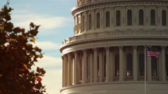Stock Video Footage of Capitol in Washington DC