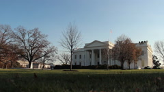 White House Washington DC Stock Footage