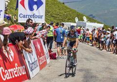 The Cyclist Thomas De Gendt - Tour de France 2013 - stock photo