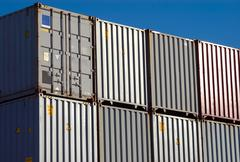 Stock Photo of Shipping Container