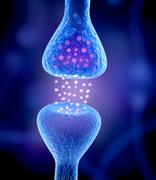 Active receptor isolated on blue - stock illustration