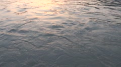 River Flow / Ganga River in Rishikesh 6 Stock Footage