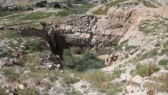 Tel of Jericho, Tell es Sultan Stock Footage