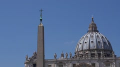Vatican. Cathedral St. Peter's Stock Footage