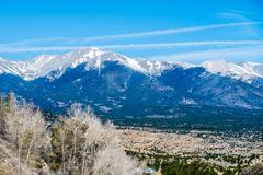 Colorado roky mountains vista views Stock Photos