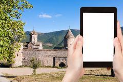 photo of Tatev Monastery in Armenia - stock photo
