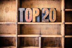 Top 20 Concept Wooden Letterpress Theme Stock Photos