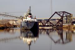 Stock Photo of Rock Salt Ship