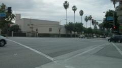 Movie Studios Burbank, California LA Entertainment Industry Stock Footage