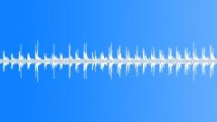 Running on textile sheet loop - sound effect