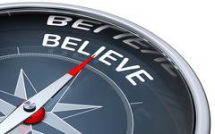 Believe Stock Illustration