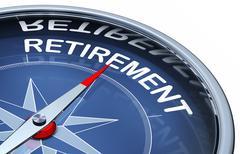 Retirement Stock Illustration