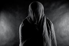 Ghost in the dark Stock Photos