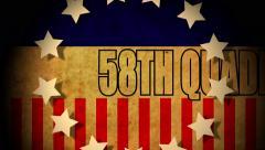 4k presidential political graphic 58th quadrennial U.S. presidential election Stock Footage