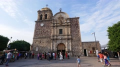 Our Lady of Purisma Concepcion, Church, Town of Tequila, Jalisco, Mexico - stock footage