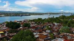 Mactan Island (Cebu City) View 01 - stock footage
