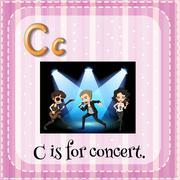Concert - stock illustration