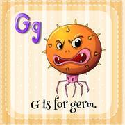 Letter G - stock illustration